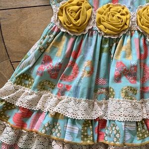 Toddler Dress Lace Vintage NWOT ABC
